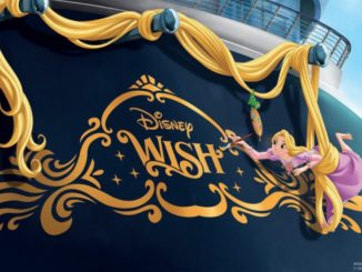 Disney Wish ist der Name des fünften Disney-Kreuzfahrtschiffes. Grafik: Disney