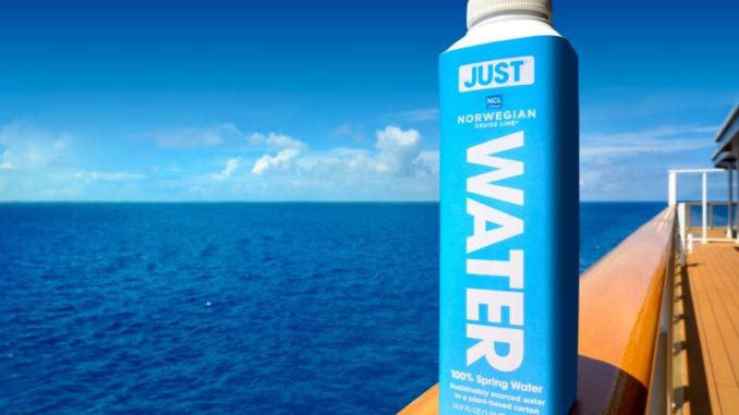 Norwegian Cruise Line verabschiedet sich von Einwegplastikflaschen. Foto: NCL