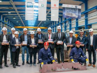 MV Werften beginnt Bau des zweiten Kreuzfahrtschiffes der Global Class. Foto: MV Werften