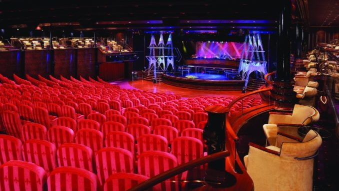 Das Stardust Theater. Foto: Norwegian Cruise Line
