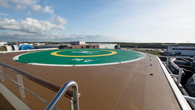 Landeplatz für Helikopter