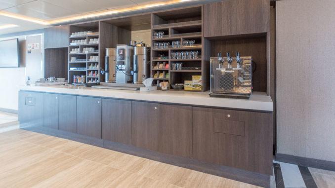 Kaffee-Station