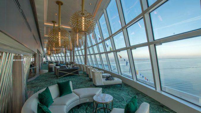 Observation Lounge der Norwegian Encore