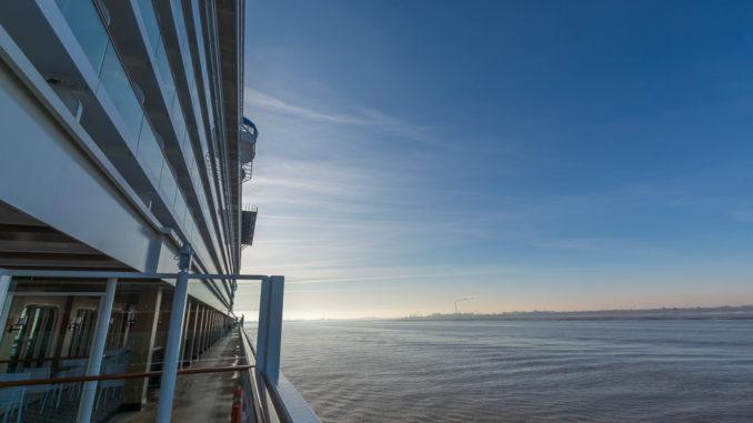 Blick über die Waterfront