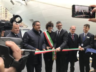 Offizielle Eröffnung der modernisierten Kaianlage des Kreuzfahrtterminals in Savona. Foto: Costa