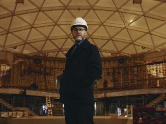 Gary Barlow im SkyDome an Bord der Iona auf der Meyer Werft. Foto: P&O Cruises