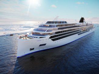 So sollen die Viking Expeditionsschiffe aussehen. Grafik: Viking