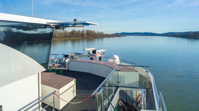 nickoVISION auf der Donau