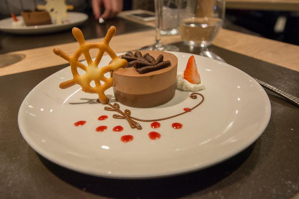 Menü im VISION-Restaurant