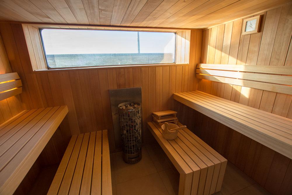 Sauna auf der nickoVISION