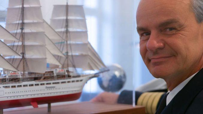 Gerald Schöber wird Kapitän der Sea Cloud Spirit. Foto: Sea Cloud Cruises