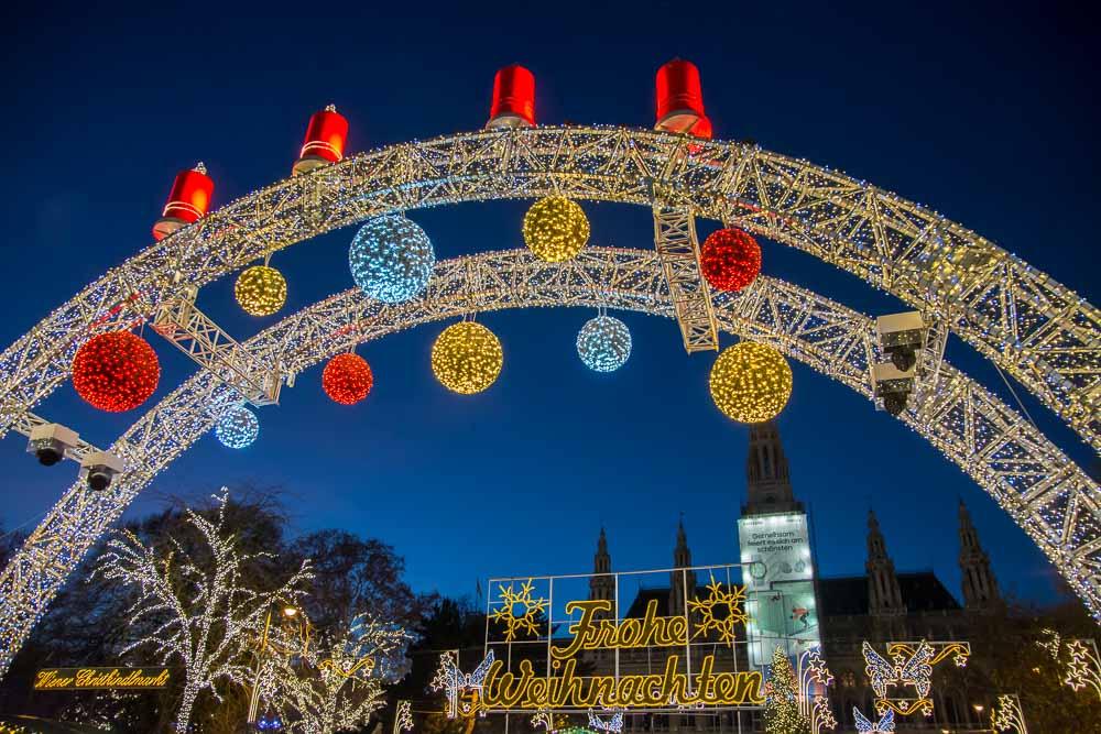 Wiener Weihnachtsmarkt am Rathaus