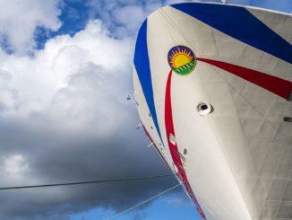 Die Iona wird morgen Abend nach Eemshaven überführt. Foto: Ingrid Fiebak-Kremer