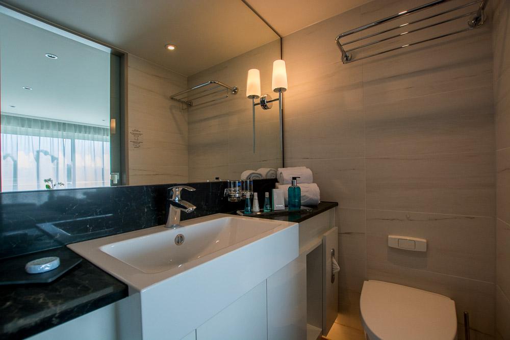 Das Bad in unserer Kabine 235