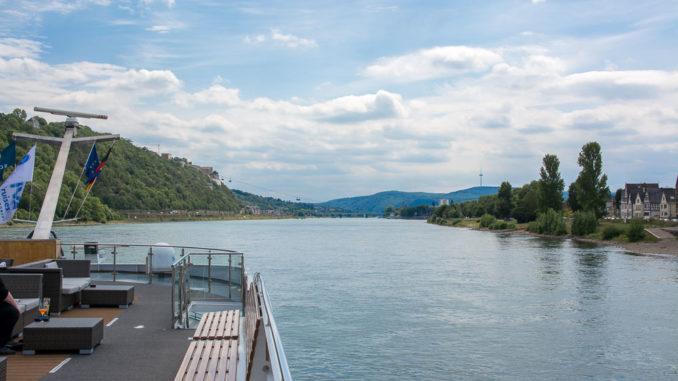 Unterwegs auf dem Rhein mit der MS INSPIRE