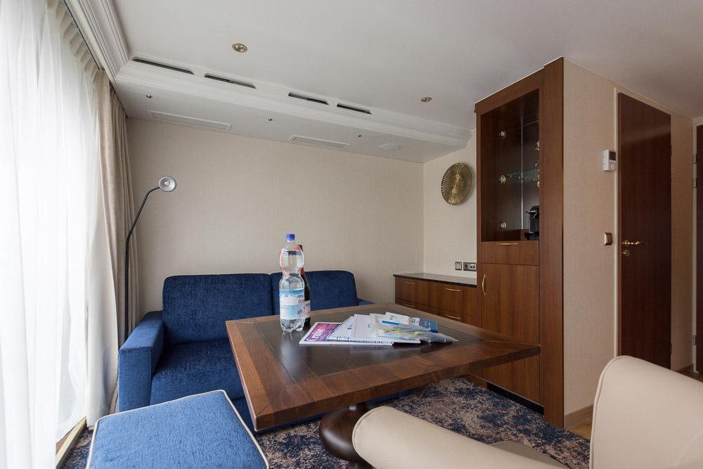 Wohnraum der Master Suite