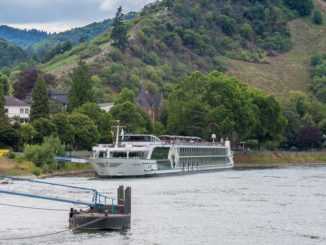 Die MS Inspire in Boppard