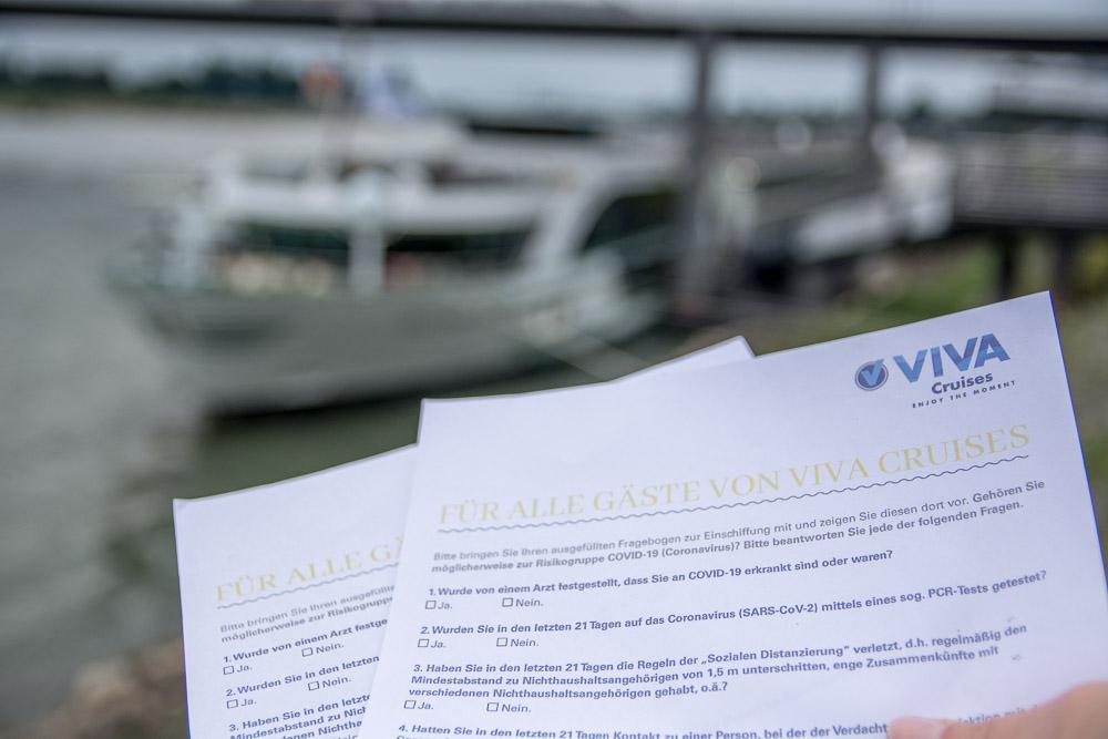 VIVA Cruises Gesundheitsfragebogen