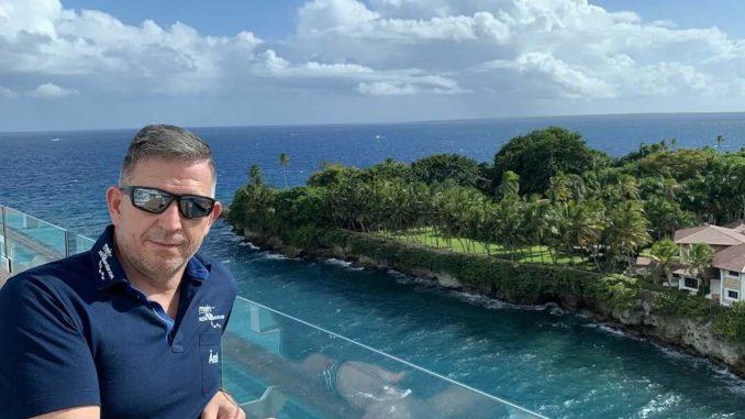 Andreas Ändi Bohnes an Bord. Foto: Mein Schiffberater