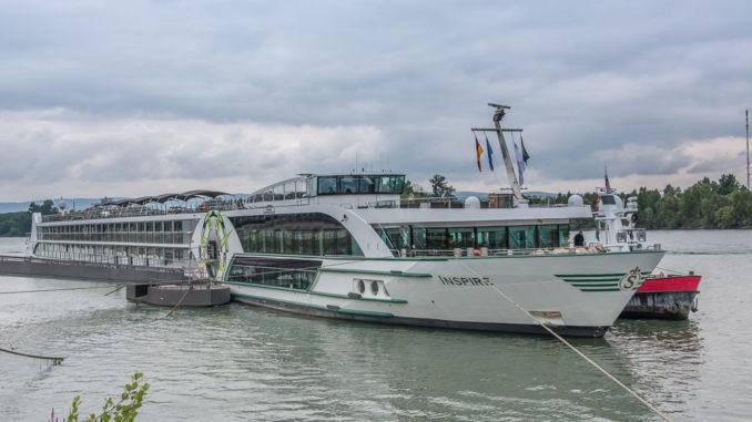 Die MS INSPIRE in Mainz