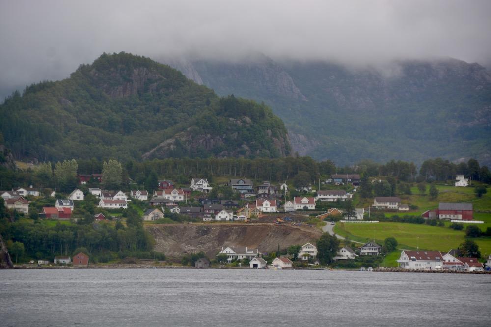 Im norwegischen Lysefjord