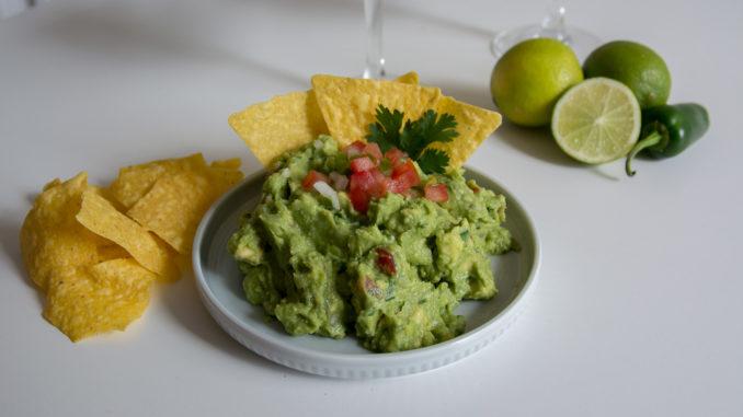 Unsere fertige Guacamole nach NCL Originalrezept