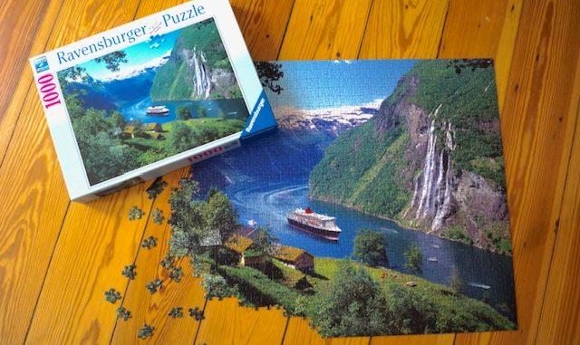 Kreuzfahrtfeeling zu Hause dank Queen Mary 2 Puzzle