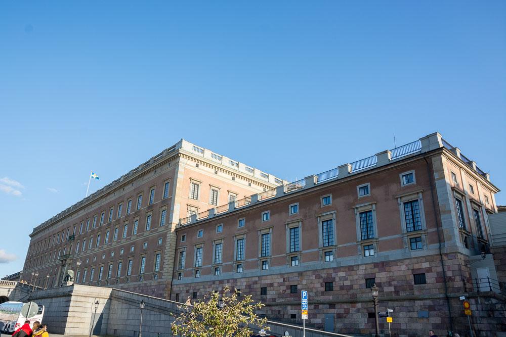 Das Kungliga Slottet von außen