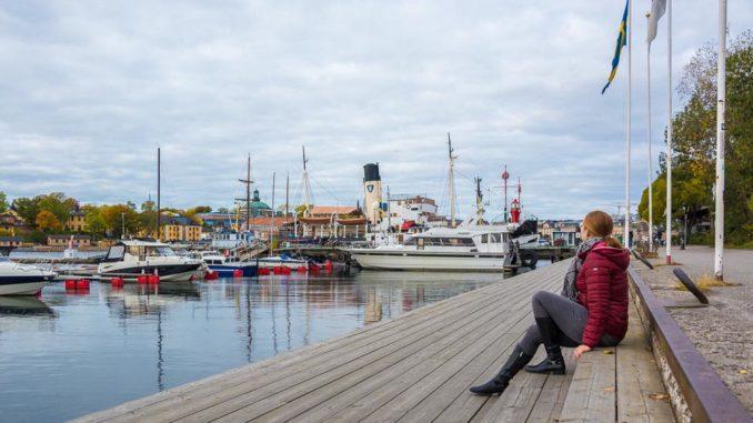 Ausblick von Djurgården