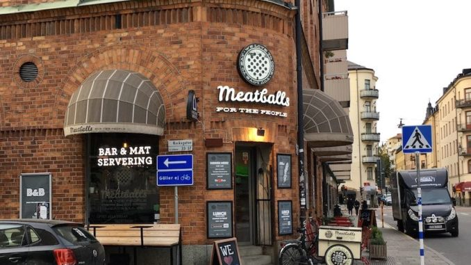 Das Meatballs for the People in Stockholm