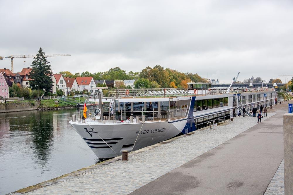 Die River Voyager in Regensburg