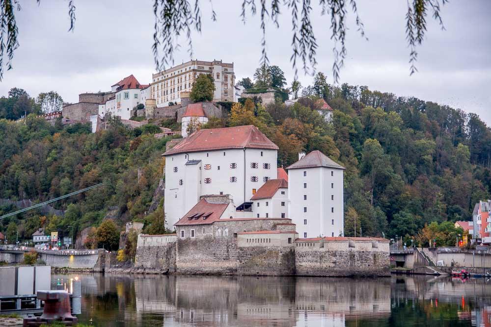 Unterwegs in der Drei-Flüsse-Stadt Passau