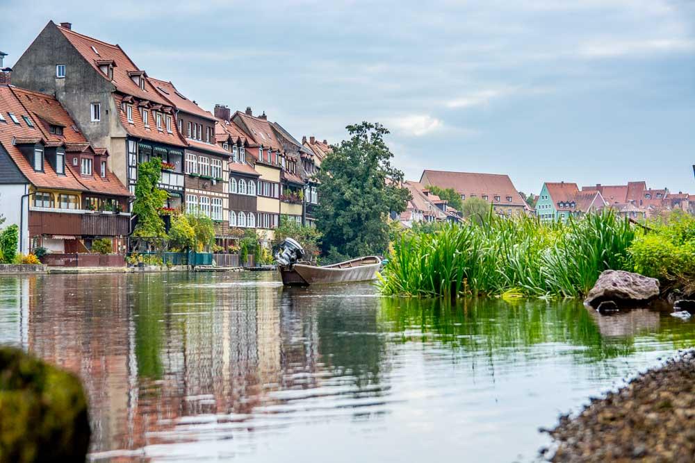 Das malerische Klein Venedig an der Regnitz