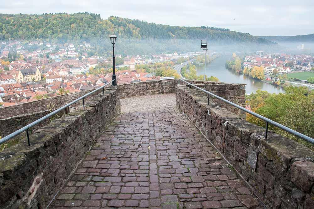 Unterwegs an der Wertheimer Burgruine